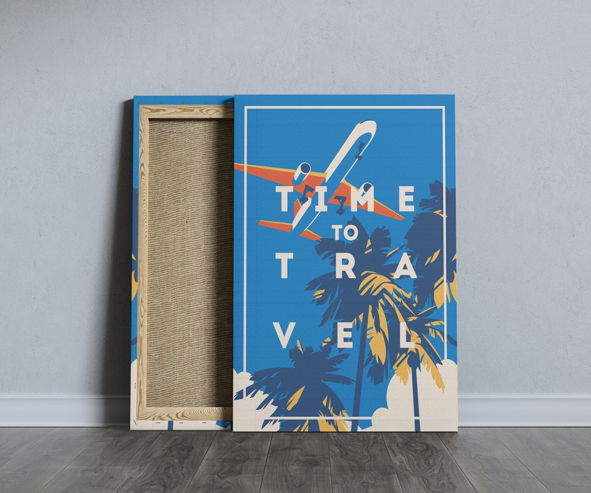 Portrait Canvas Mockup by Anthony Boyd Graphics