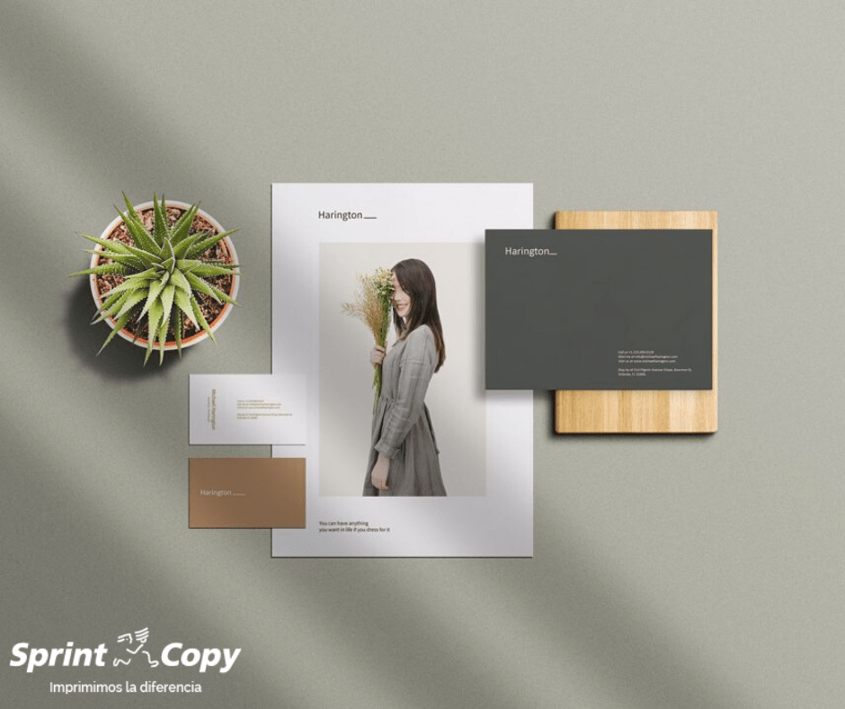 impresión con papel ecológico